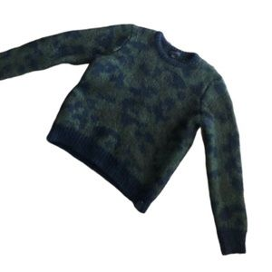 Coach military wild beast military sweater